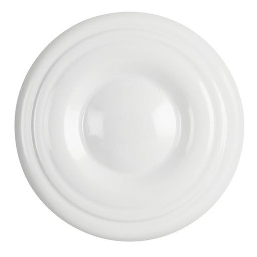 Hickory Hardware H-P14402-W Contemporary/Conquest White Round Knob - KnobDepot.com