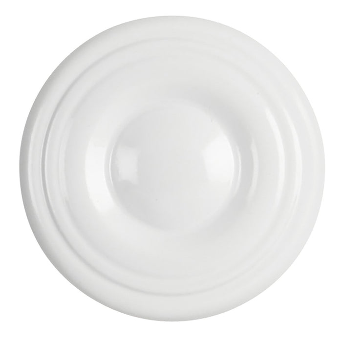 Hickory Hardware H-P14402-W Contemporary/Conquest White Round Knob - Knob Depot