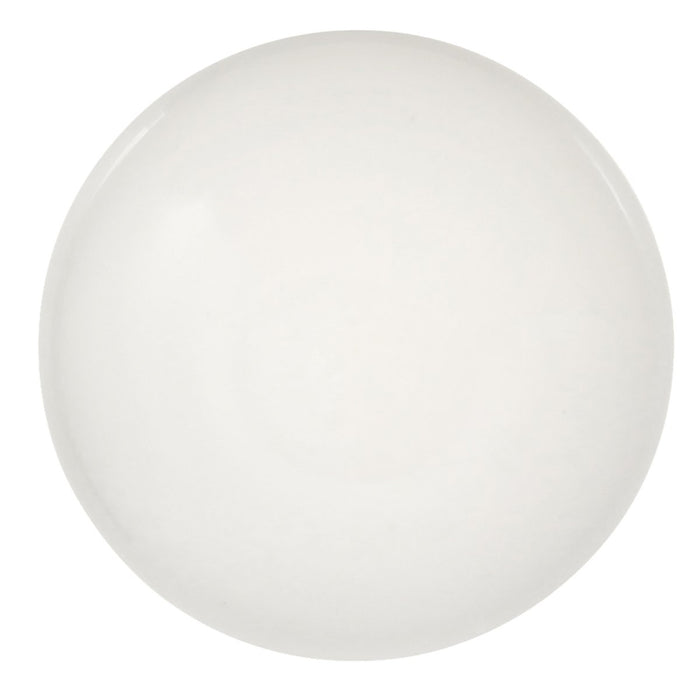 Hickory Hardware H-P14630-W Contemporary/Conquest White Round Knob