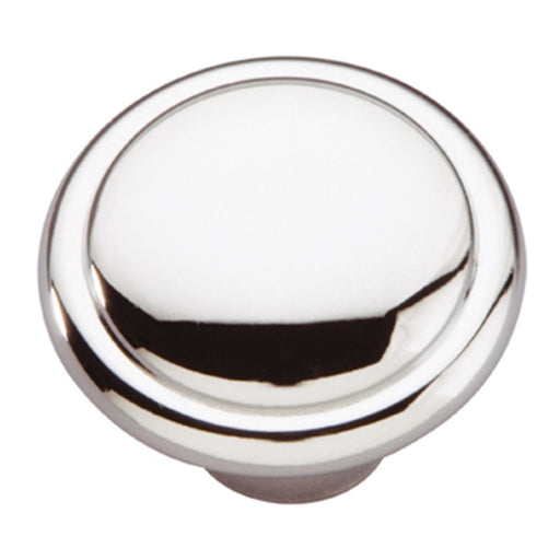 Hickory Hardware H-P14848-26 Contemporary/Conquest Chrome Round Knob - KnobDepot.com