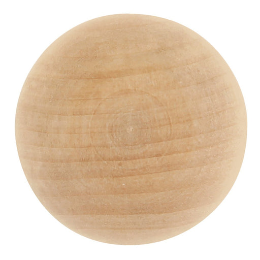 Hickory Hardware H-P180-UW Traditional/Natural Woodcraft Unfinished Wood Round Knob - KnobDepot.com