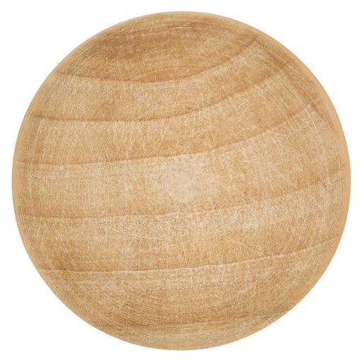 Hickory Hardware H-P185-UW Traditional/Natural Woodcraft Unfinished Wood Round Knob - KnobDepot.com