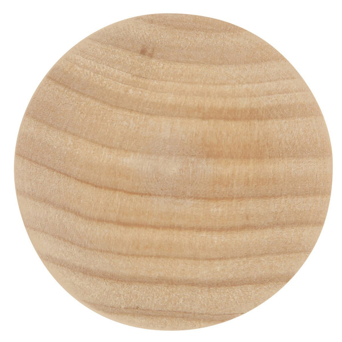 Hickory Hardware H-P186-UW Traditional/Natural Woodcraft Unfinished Wood Round Knob
