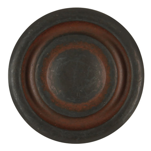 Hickory Hardware H-P2011-RI Casual/Manchester Rustic Iron Round Knob - Knob Depot