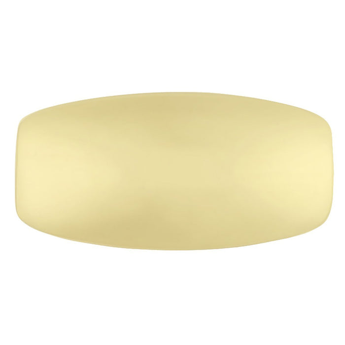 Hickory Hardware H-P208-UB Traditional/Williamsburg Ultra Brass Rectangular Knob - Knob Depot