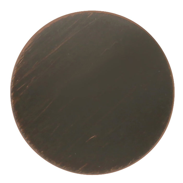 Hickory Hardware H-P2140-VB Contemporary/American Diner Vintage Bronze Round Knob - Knob Depot