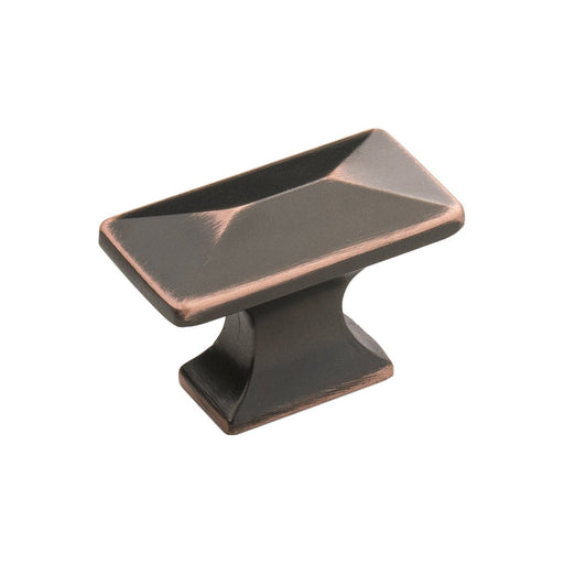 Hickory Hardware H-P2150-OBH Contemporary/Bungalow Oil Rubbed Bronze Highlighted Rectangular Knob - KnobDepot.com