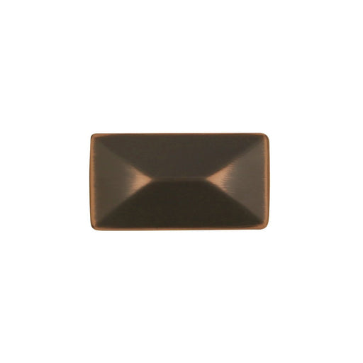 Hickory Hardware H-P2150-OBH Contemporary/Bungalow Oil Rubbed Bronze Highlighted Rectangular Knob - Knob Depot