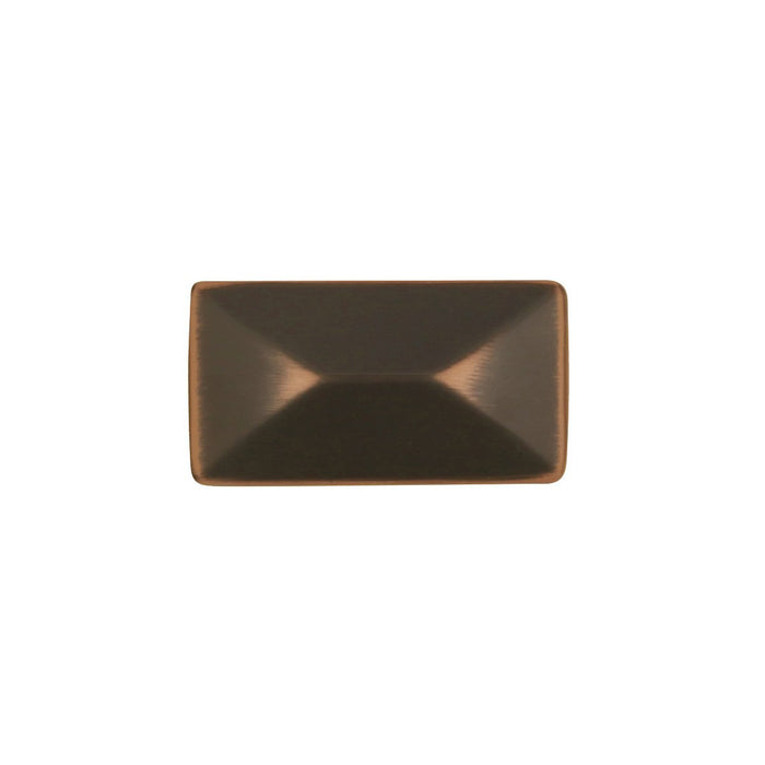 Hickory Hardware H-P2150-OBH Contemporary/Bungalow Oil Rubbed Bronze Highlighted Rectangular Knob