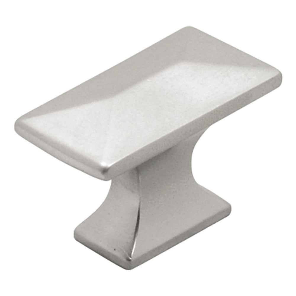 Hickory Hardware H-P2150-PN Contemporary/Bungalow Pearl Nickel Rectangular Knob - KnobDepot.com
