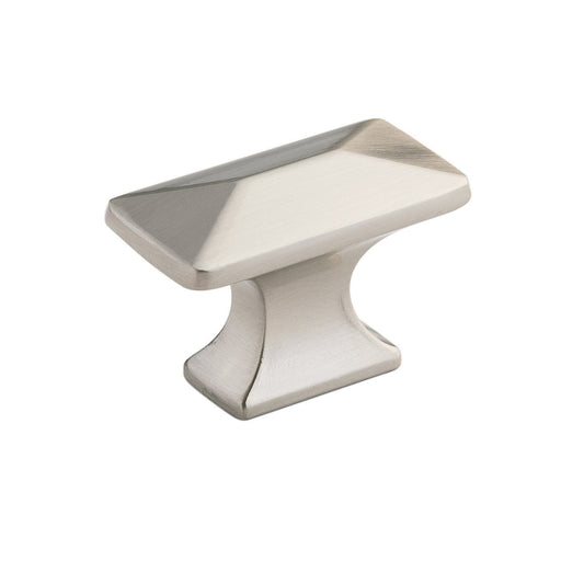 Hickory Hardware H-P2150-SN Contemporary/Bungalow Satin Nickel Rectangular Knob - Knob Depot