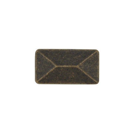 Hickory Hardware H-P2150-WOA Contemporary/Bungalow Windover Antique Rectangular Knob - KnobDepot.com