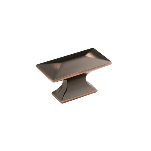 Hickory Hardware H-P2151-OBH Contemporary/Bungalow Oil Rubbed Bronze Highlighted Rectangular Knob - KnobDepot.com