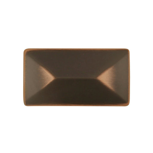 Hickory Hardware H-P2151-OBH Contemporary/Bungalow Oil Rubbed Bronze Highlighted Rectangular Knob - Knob Depot