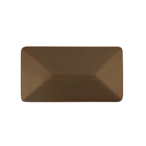 Hickory Hardware H-P2151-RB Contemporary/Bungalow Refined Bronze Rectangular Knob - Knob Depot