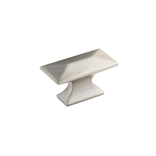 Hickory Hardware H-P2151-SN Contemporary/Bungalow Satin Nickel Rectangular Knob - KnobDepot.com
