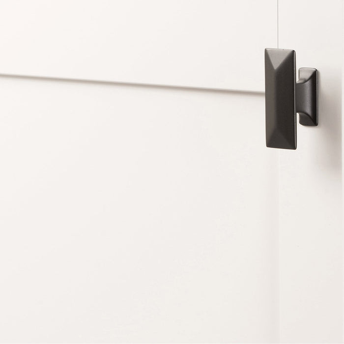 Hickory Hardware H-P2152-10B Contemporary/Bungalow Oil Rubbed Bronze Rectangular Knob - KnobDepot.com