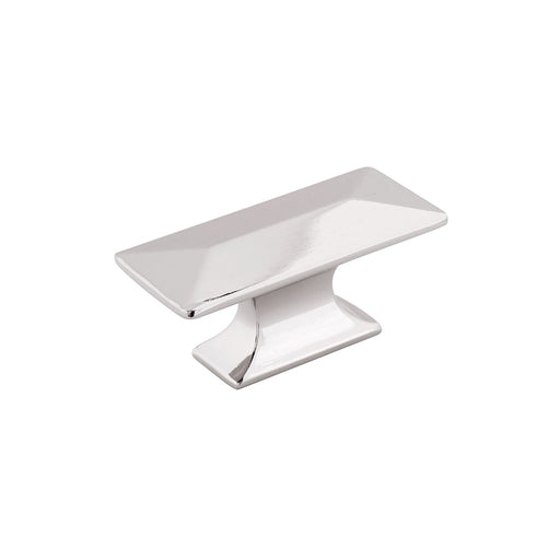 Hickory Hardware H-P2152-14 Contemporary/Bungalow Polished Nickel Rectangular Knob - KnobDepot.com