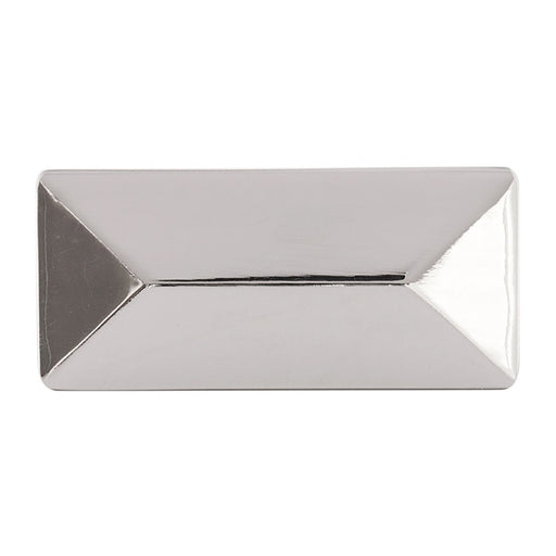 Hickory Hardware H-P2152-14 Contemporary/Bungalow Polished Nickel Rectangular Knob - Knob Depot