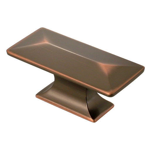 Hickory Hardware H-P2152-OBH Contemporary/Bungalow Oil Rubbed Bronze Highlighted Rectangular Knob