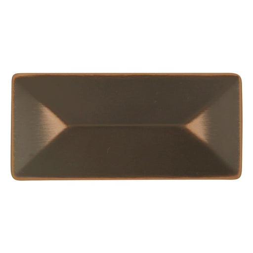 Hickory Hardware H-P2152-OBH Contemporary/Bungalow Oil Rubbed Bronze Highlighted Rectangular Knob - Knob Depot