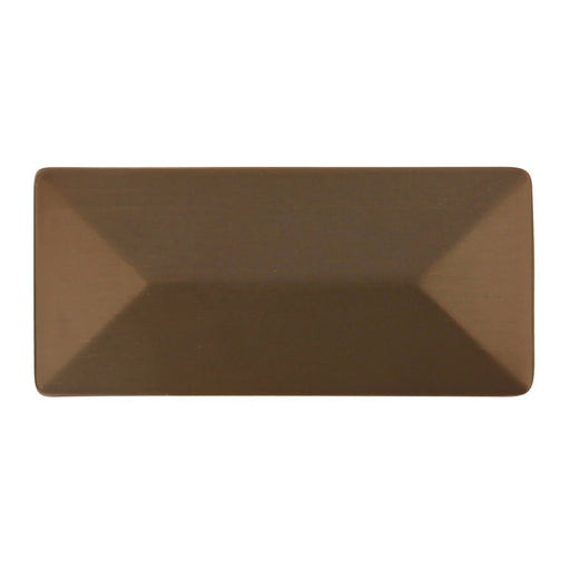 Hickory Hardware H-P2152-RB Contemporary/Bungalow Refined Bronze Rectangular Knob - Knob Depot
