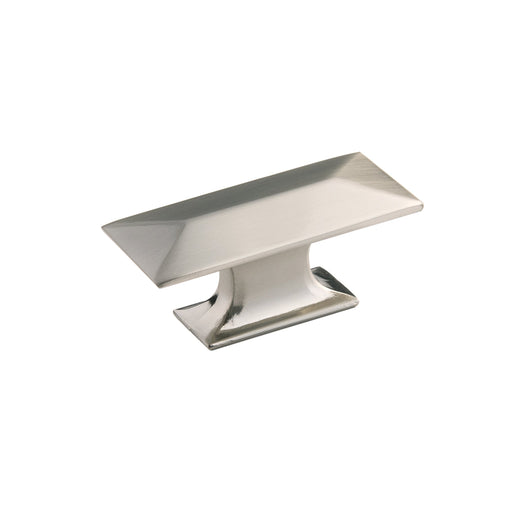 Hickory Hardware H-P2152-SN Contemporary/Bungalow Satin Nickel Rectangular Knob - KnobDepot.com