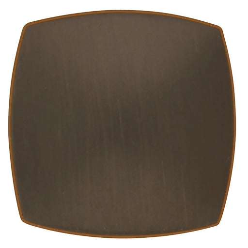 Hickory Hardware H-P2163-OBH Contemporary/Euro-Contemporary Oil Rubbed Bronze Highlighted Square Knob - Knob Depot