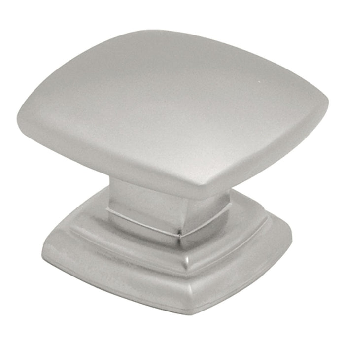 Hickory Hardware H-P2163-PN Contemporary/Euro-Contemporary Pearl Nickel Square Knob