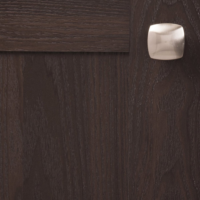 Hickory Hardware H-P2163-SN Contemporary/Euro-Contemporary Satin Nickel Square Knob - Knob Depot