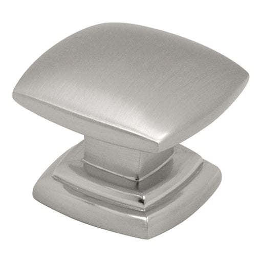 Hickory Hardware H-P2163-SN Contemporary/Euro-Contemporary Satin Nickel Square Knob