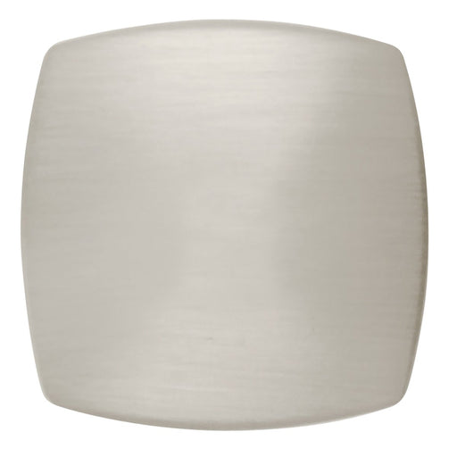 Hickory Hardware H-P2163-SN Contemporary/Euro-Contemporary Satin Nickel Square Knob - KnobDepot.com
