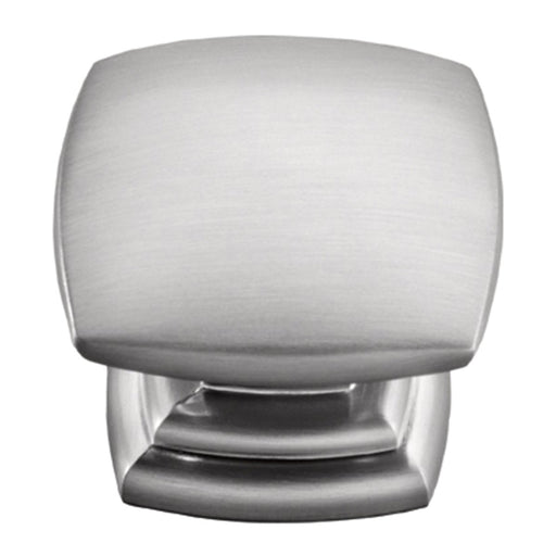 Hickory Hardware H-P2163-SS Contemporary/Euro-Contemporary Stainless Steel Square Knob - Knob Depot