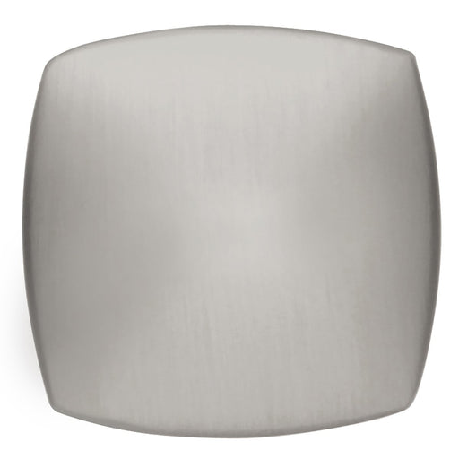 Hickory Hardware H-P2163-SS Contemporary/Euro-Contemporary Stainless Steel Square Knob - KnobDepot.com