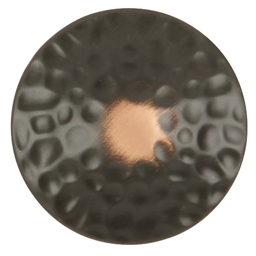 Hickory Hardware H-P2170-OBH Casual/Craftsman Oil Rubbed Bronze Highlighted Round Knob - KnobDepot.com