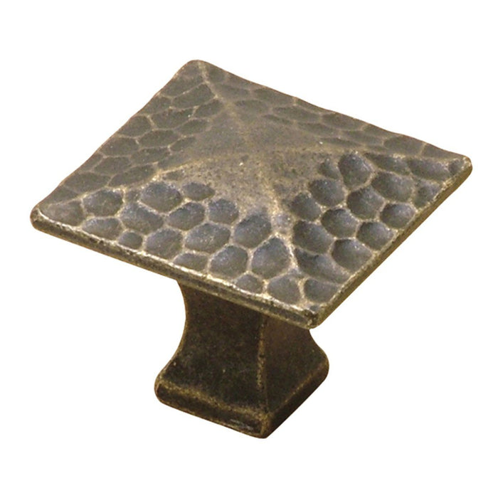 Hickory Hardware H-P2172-WOA Casual/Craftsman Windover Antique Square Knob - Knob Depot