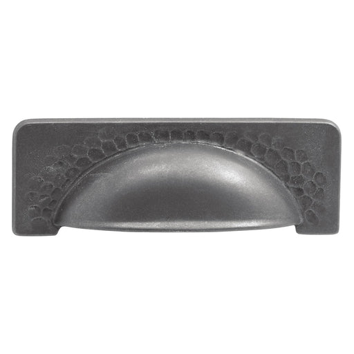 Hickory Hardware H-P2174-BI Casual/Craftsman Black Iron Cup Pull