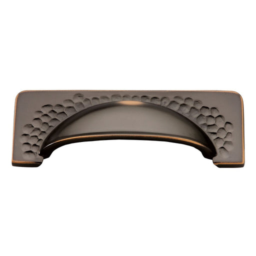 Hickory Hardware H-P2174-OBH Casual/Craftsman Oil Rubbed Bronze Highlighted Cup Pull