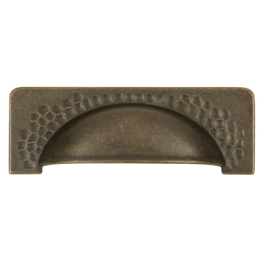 Hickory Hardware H-P2174-WOA Casual/Craftsman Windover Antique Cup Pull - KnobDepot.com