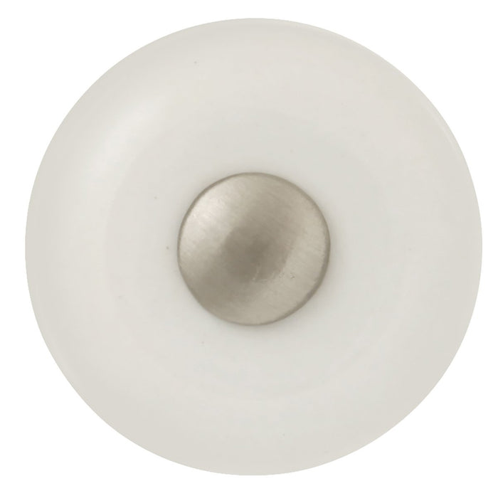 Hickory Hardware H-P222-SN Traditional/Tranquility Satin Nickel Round Knob - Knob Depot