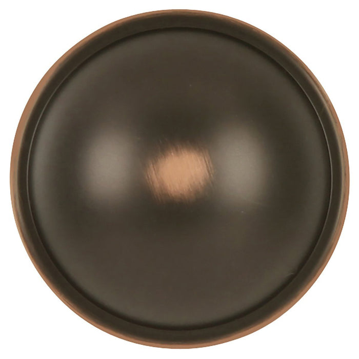 Hickory Hardware H-P2243-OBH Contemporary/Savoy Oil Rubbed Bronze Highlighted Round Knob - KnobDepot.com