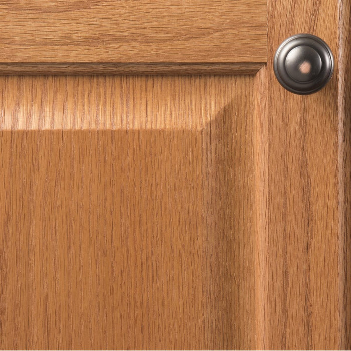 Hickory Hardware H-P2283-OBH Contemporary/Zephyr Oil Rubbed Bronze Highlighted Round Knob