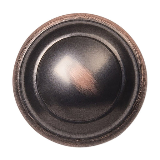 Hickory Hardware H-P2286-OBH Contemporary/Zephyr Oil Rubbed Bronze Highlighted Round Knob - Knob Depot