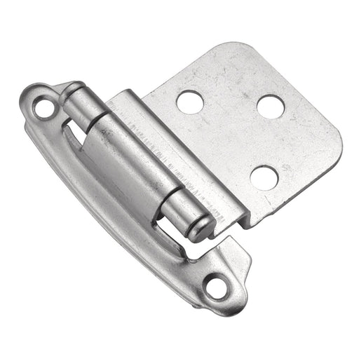 Hickory Hardware H-P243-CLX Functional/Surface Self-Closing Chromolux Hinge - KnobDepot.com