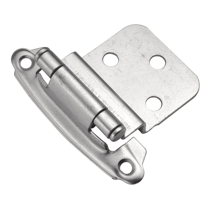 Hickory Hardware H-P243-CLX Functional/Surface Self-Closing Chromolux Hinge - Knob Depot