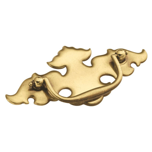 Hickory Hardware H-P252-LP Traditional/Manor House Lancaster Hand Polished Drop Pull - KnobDepot.com