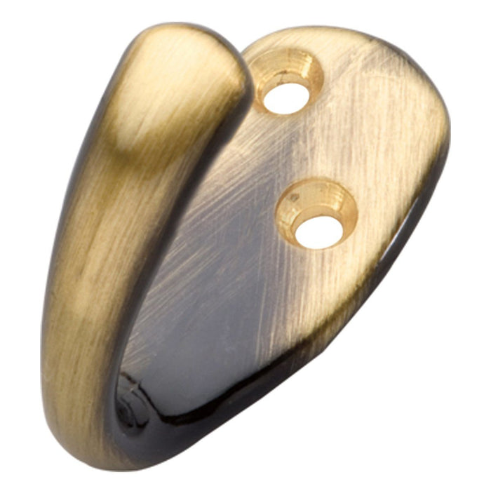 Hickory Hardware H-P27100-AB Functional/Hooks Antique Brass Hook - Knob Depot