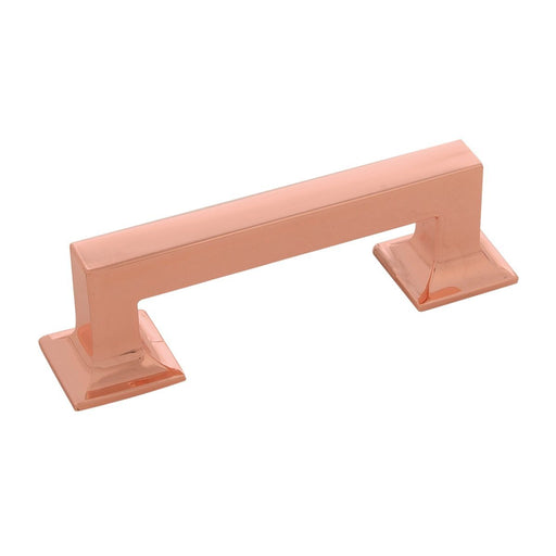 Hickory Hardware H-P3010-CP Contemporary/Studio Polished Copper Standard Pull