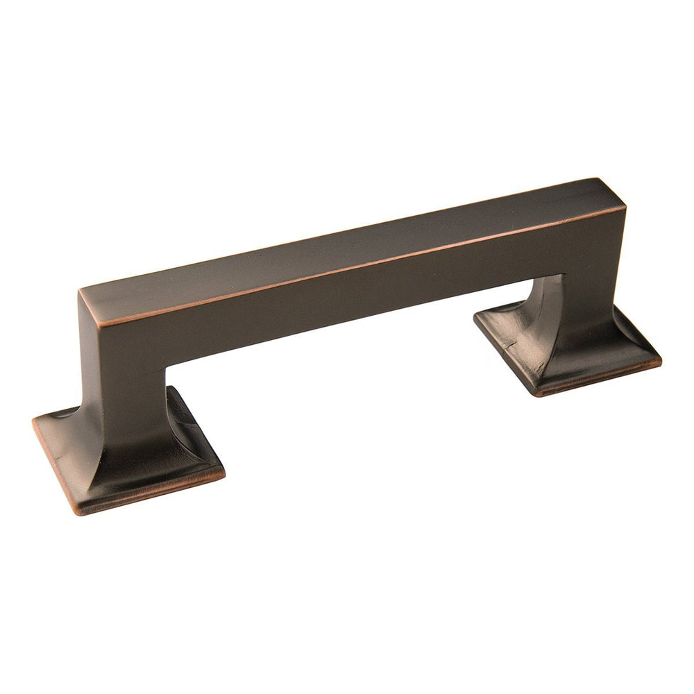 Hickory Hardware H-P3010-OBH Contemporary/Studio Oil Rubbed Bronze Highlighted Standard Pull