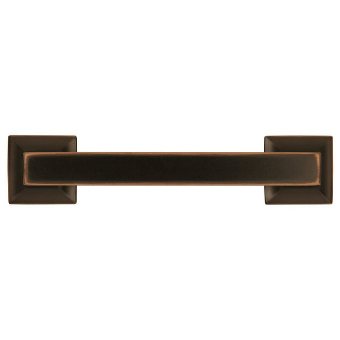 Hickory Hardware H-P3011-OBH Contemporary/Studio Oil Rubbed Bronze Highlighted Standard Pull - KnobDepot.com